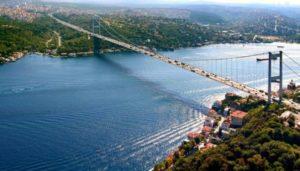Босфорский пролив в Стамбуле