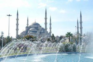 Достопримечательности: Голубая мечеть в Стамбуле