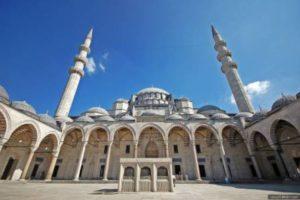 Мечеть Сулеймание. Достопримечательности Стамбула