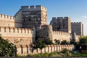 Стены Константинополя: Достопримечательности Стамбула