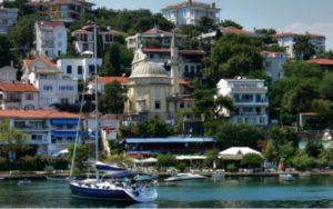 Районы Стамбула: Бургазада Burgazada