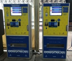 Стамбул Автоматы для пополнения Istanbul kart