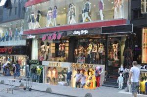 Шоппинг в Стамбуле: Лалели Laleli