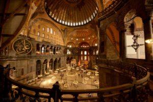 собор Святой Софии Aya Sofya Стамбул
