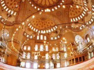 мечеть Султанахмет в Стамбуле Sultanahmet camii