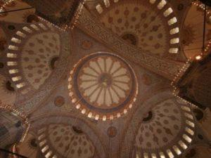 Голубая мечеть в Стамбуле Sultanahmet camii