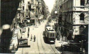 район Бейоглу в Стамбуле Beyoğlu