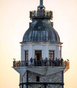 Девичья башня в Стамбуле Kız Kulesi