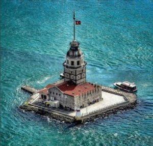 Девичья башня Стамбул Kız Kulesi