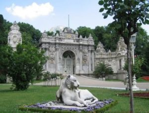 Dolmabahce Дворец Долмабахче