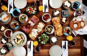 Турецкий завтрак türk kahvaltısı