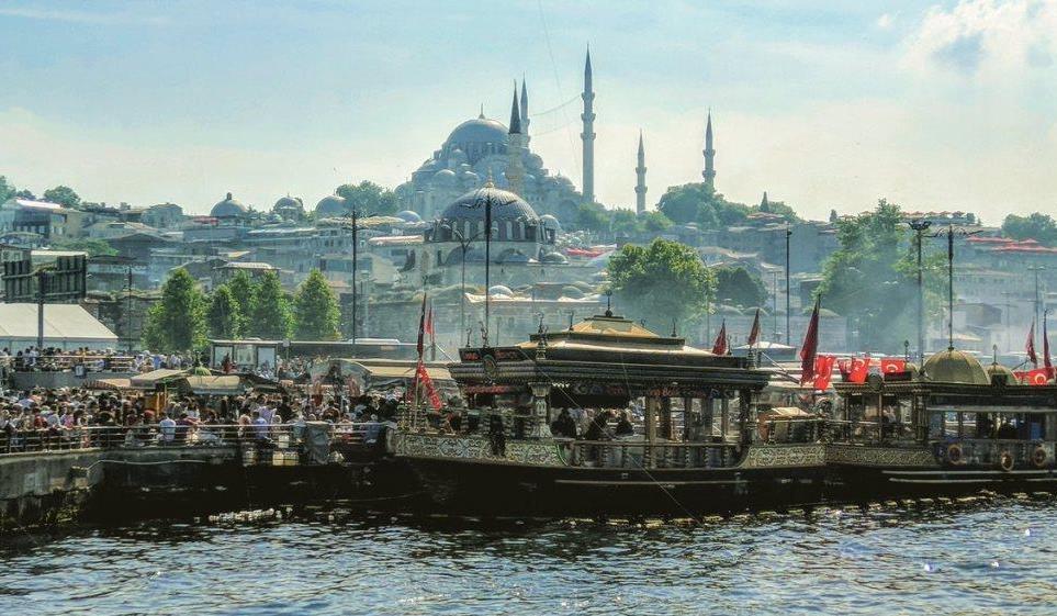Балык экмек в Стамбуле