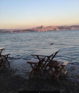 Балык экмек в Стамбуле Taka Balık Ekmek