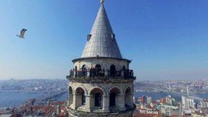 Смотровая площадка Галатская Башня galata kulesi