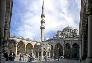 Новая мечеть в Стамбуле Yeni camii