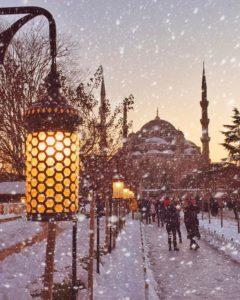 в Стамбул зимой