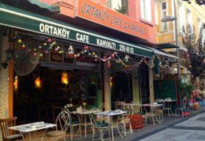 ortaköy kafe kahvaltı Ортакёй Стамбул