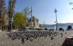 ortakoy meydani Площадь Ортакей Стамбул