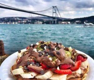 waffle Вафли в Ортакей Стамбул