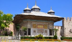 Фонтан Султана Ахмеда Третьего (III. Ahmet Çeşmesi)