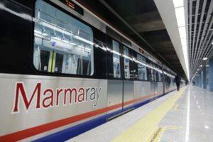 Тунель Мармарай в Стамбуле