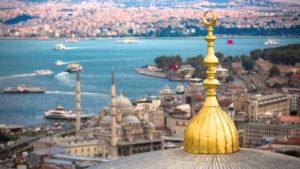 Sultanahmet Султанахмет Стамбул летом