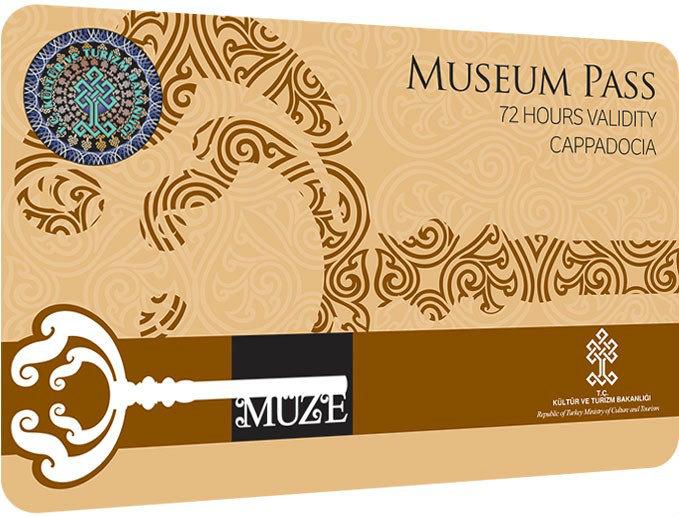 Музейная карта Каппадокия Museum Pass Cappadocia