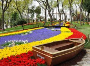 lale festivali Istanbul Emirgan parki