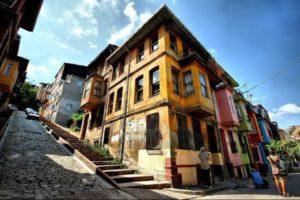 Merdivenli yokus Balat Istanbul Стамбул Балат