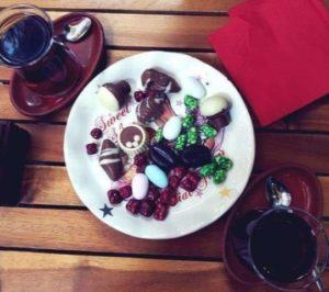 Çikolata Mahzeni кафе в Бешикташе Стамбул