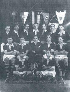 1927 год, команда Бешикташ, Стамбул