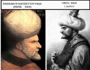 Барбарос Хайреддин Паша пират флотоводец Barbaros Hayrettin Pasa