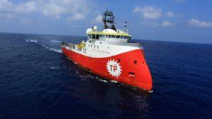 Корабль по изучению сейсмической активности, названный в честь Барбаросса Хайреддина Паши