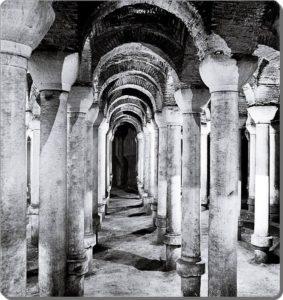 Binbirdirek sarnici 1937 Цистерна Филоксена Стамбул