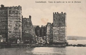 Mermer kale крепость Йедикуле Стамбул