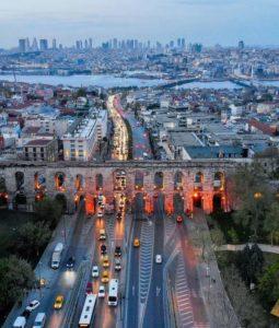 Акведук Валента, Стамбул, Константинополь