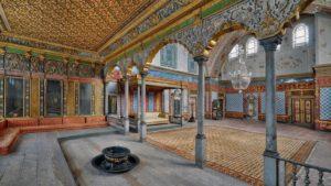 Гарем во дворце Топкапы Стамбул Великолепный век Harem