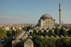мечеть Михримах Султан в Эдирнекапы, Стамбул