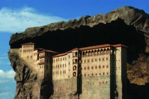 монастырь Сумела в Трабзоне Миниатюрк Стамбул