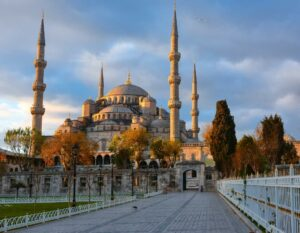 Осень в Стамбуле