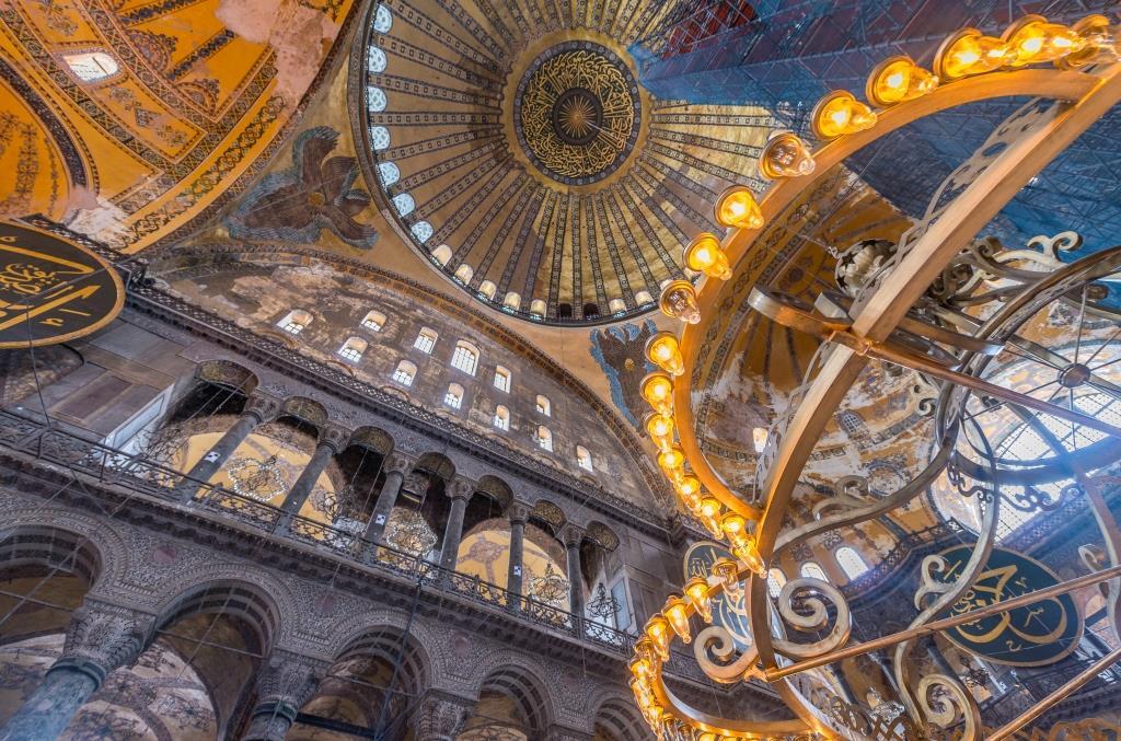 Собор Святой Софии Стамбул