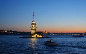 Девичья башня. Достопримечательности Стамбула