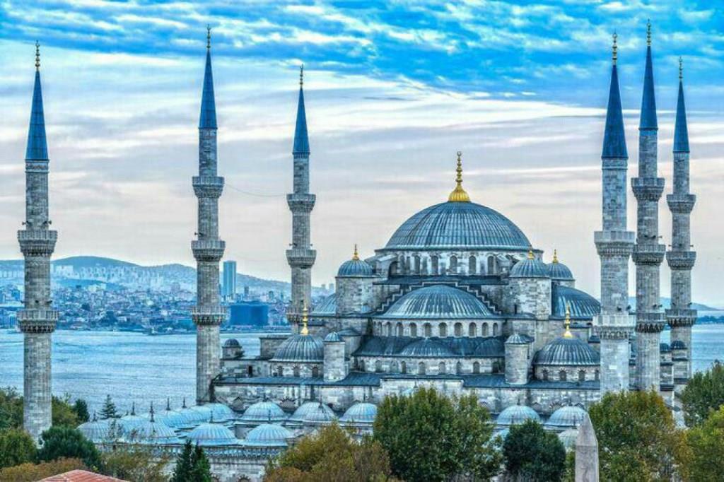 стамбул с голубой мечетью картинки помогите