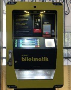 Стамбул Автоматы для покупки и пополнения Istanbul kart