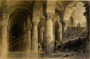 Цистерна Базилика Йеребатан в Стамбуле