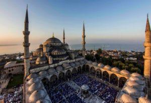 Голубая мечеть (мечеть Султанахмет) в Стамбуле