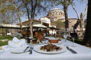 Дворец Топкапы Ресторан Каракол