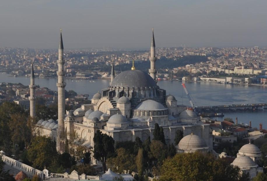 мечеть султана сулеймана в стамбуле фото ворота создавались