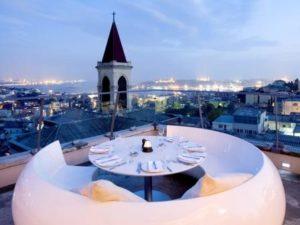 Ресторан 360 Istanbul в Бейоглу Стамбул
