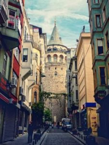Галатская башня в Стамбуле Galata Kulesi